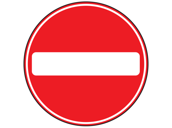 No Entry Sign - Google Search