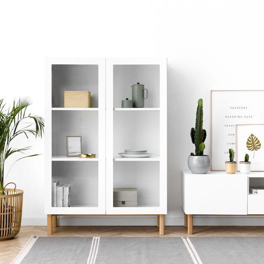 Suri vitrina blanca | home inspiration en 2019 | Vitrina ...