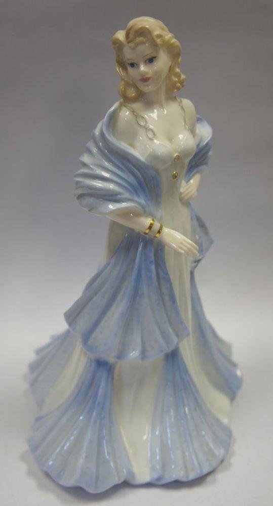 Coalport Lady Figurine The Collingwood Collection