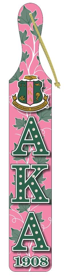 Alpha Kappa Alpha Symbol Paddle Pretty Pearls Incorporated