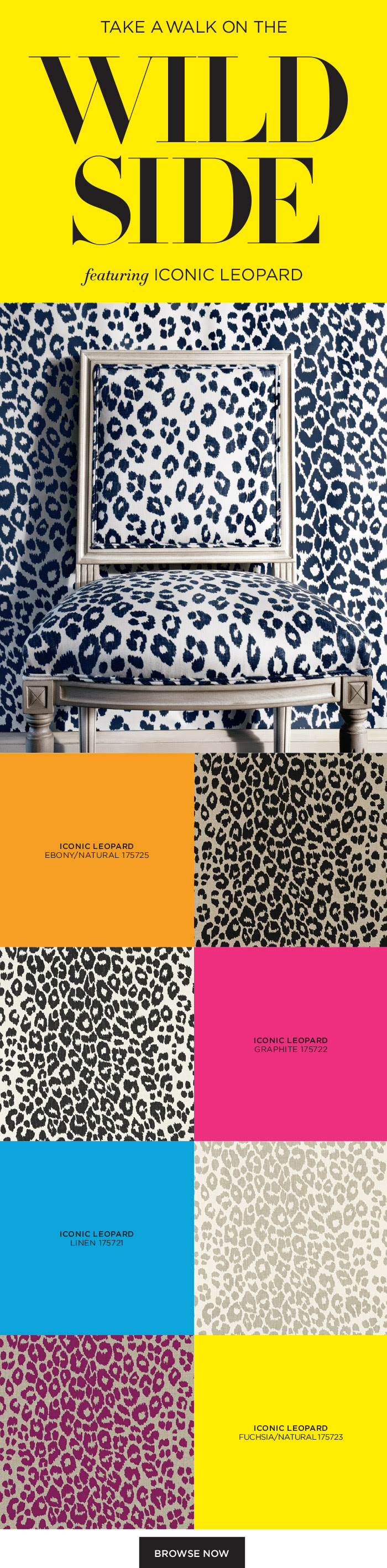 Iconic Leopard from our 125th Anniversary Collection