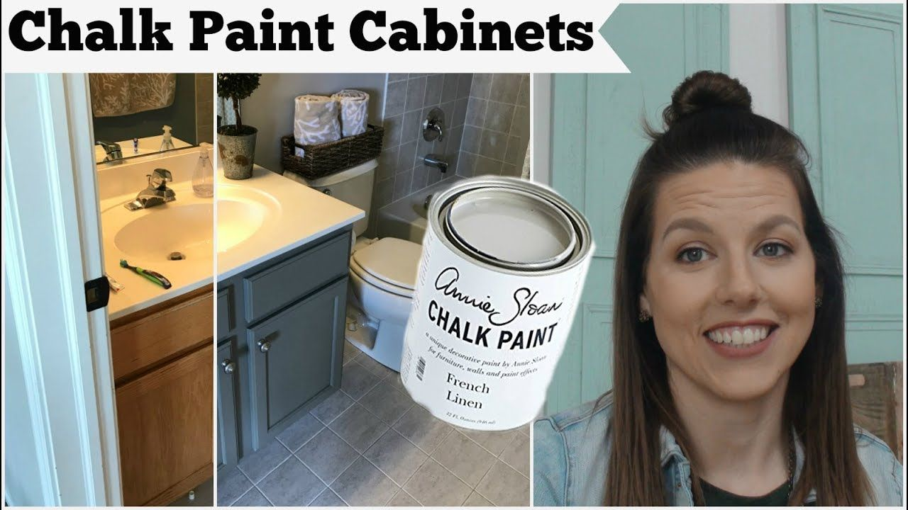 Chalk Paint Cabinets With Annie Sloan Chalk Paint Youtube Chalk Paint Cabinets Painting Cabinets Annie Sloan Painted Furniture