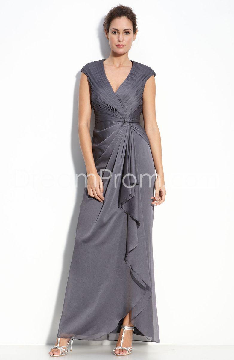 Modest wedding dresses under 200  Attractive Sleeveless Vneck Anklelength Pickup Mother Of The
