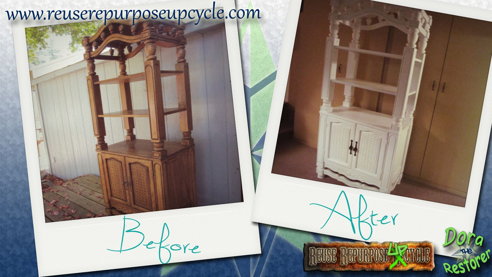 Before and After. By Repurposed Creations | Repurposed ... |Repurposed Furniture Before And After
