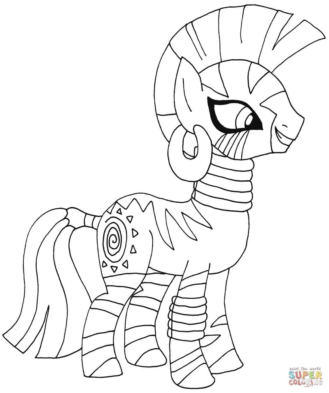 Mein Kleines Pony Malvorlagen Gambar