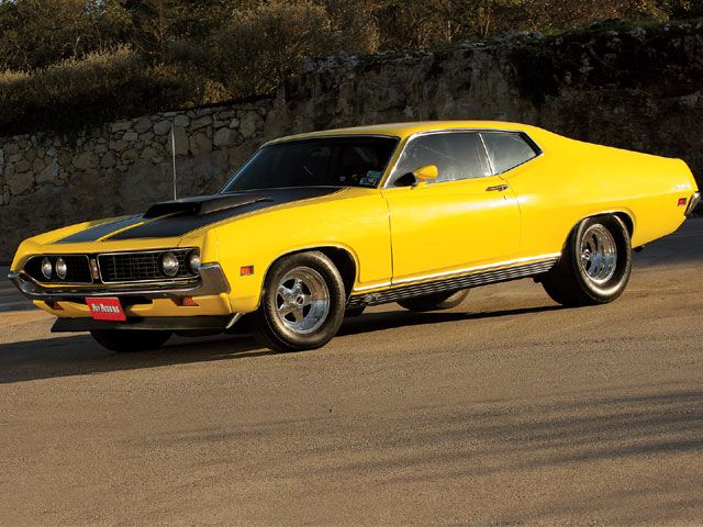 Ford Torino Gt Went On Our Honeymoon In This  Torino It Was Yellow And Covered With White Shoe Polish