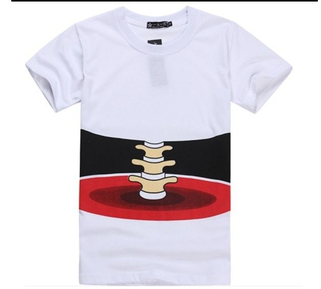 NEW FASHION WOMEN/ MEN FUNNY 3D EFFECT BONE T-SHIRT LEISURE SLIM T-SHIRT 3D TOP TEES.  Regular Price $24.99 Special Price $17.49 (30.00% OFF )  http://www.frezdeal.com/productdetails/786/new-fashion-women-men-funny-3d-effect-bone-t-shirt-leisure-slim-t-shirt-3d-top-tees.html