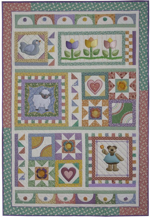 Machine Embroidered Quilts Machine Embroidery Machine Embroidery
