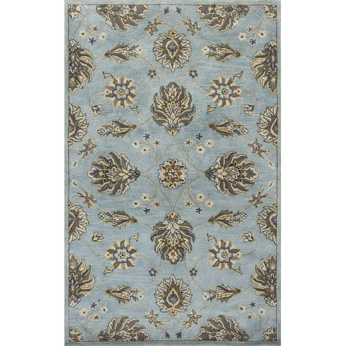 Found it at Joss & Main - Beckham Blue Hand-Tufted Area Rug