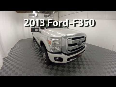 2013 Ford F 350 Platinum Diesel 4wd Used Autos For Sale Columbus