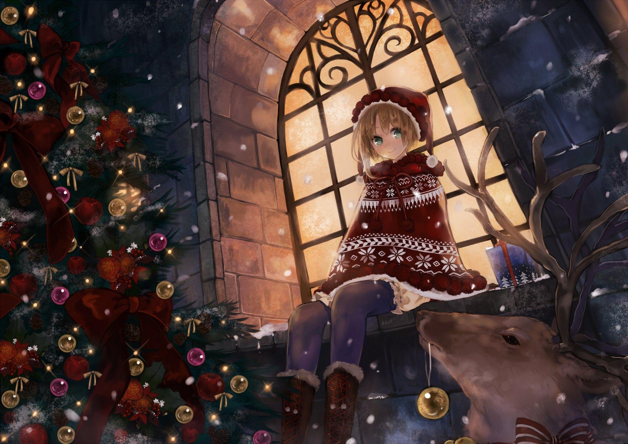 Wallpaper Holiday Decor Wallpaper Kawaii Anime