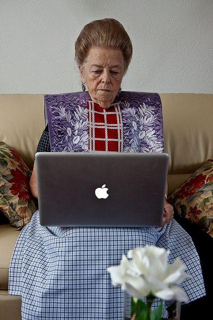 The internet user by Peter Werkman (), via Flickr #Utrecht #Spakenburg