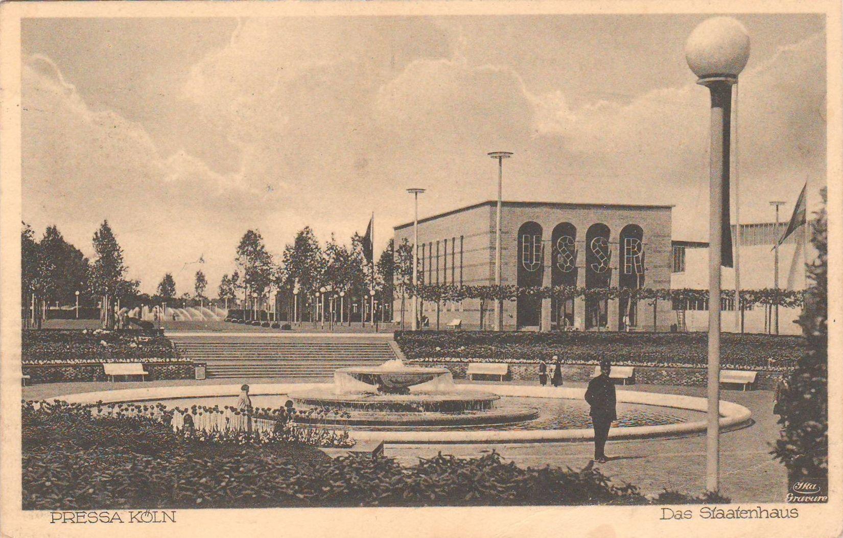 Lissitzky el pavillon der udssr auf der pressa köln the