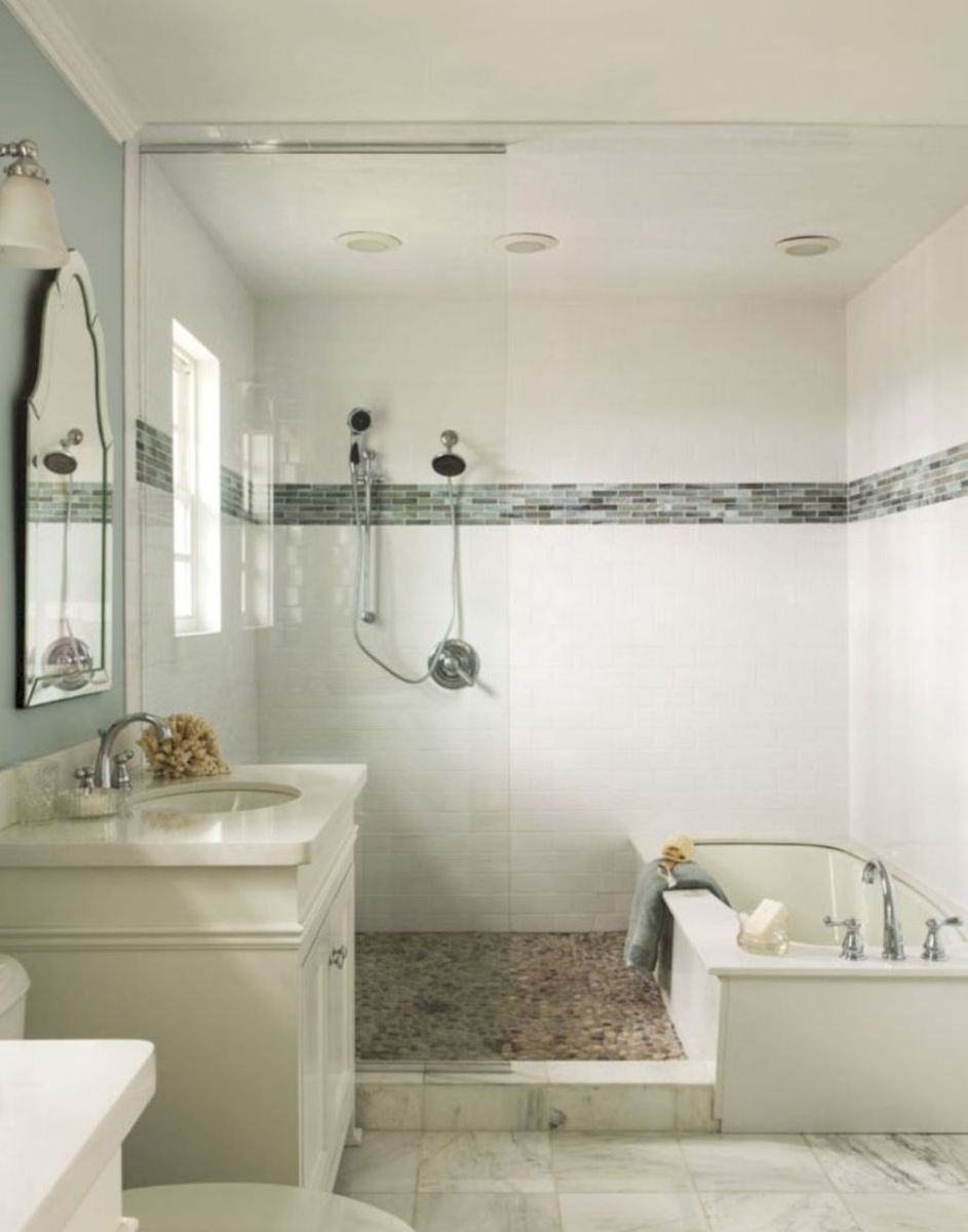 Fresh and cool small bathroom remodel ideas on a budget (32 | Small ...