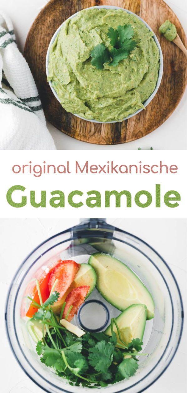 Guacamole Originalrezept (einfach in 5 Minuten) | Aline Made