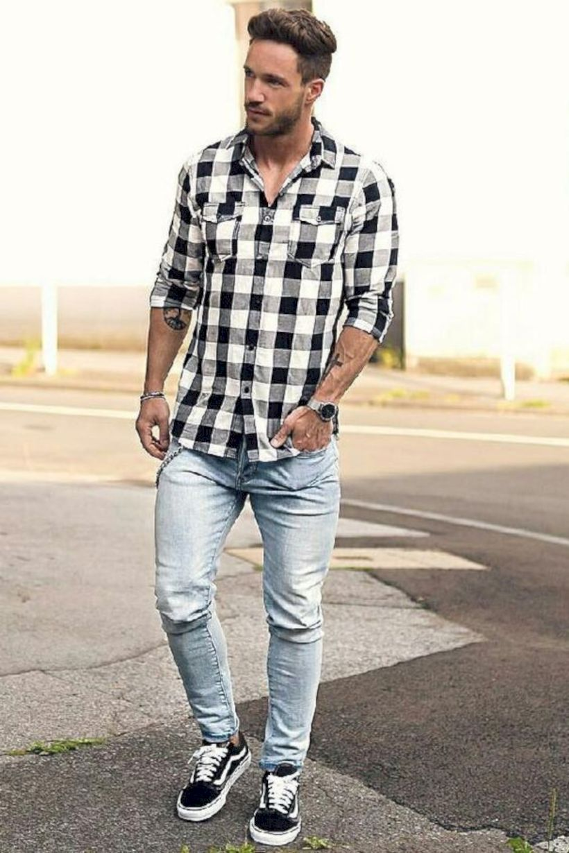 ef7cc0293b awesome 15 Ways to Dress Up with Vans and Jeans for Men https