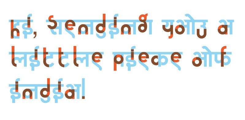 The Hinglish Project   - character letter