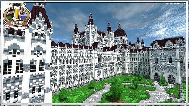 Hungarian House Of Parliament Minecraft World Save Minecraft - Minecraft eden spielen