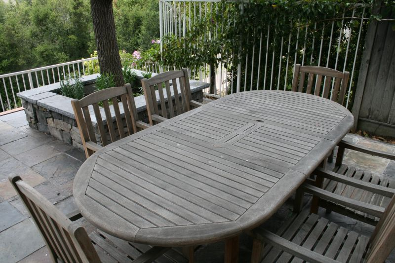 Weathered Teak Patio Furniture Ideas The Home Redesign