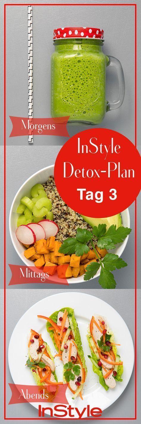 Der 7 Tage Detox Plan: Lecker, gesund und super einfach!