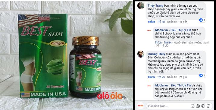 Best Slim Thuốc Giảm Cân Best Slim Collagen USA Chính Hãng Giá Tốt