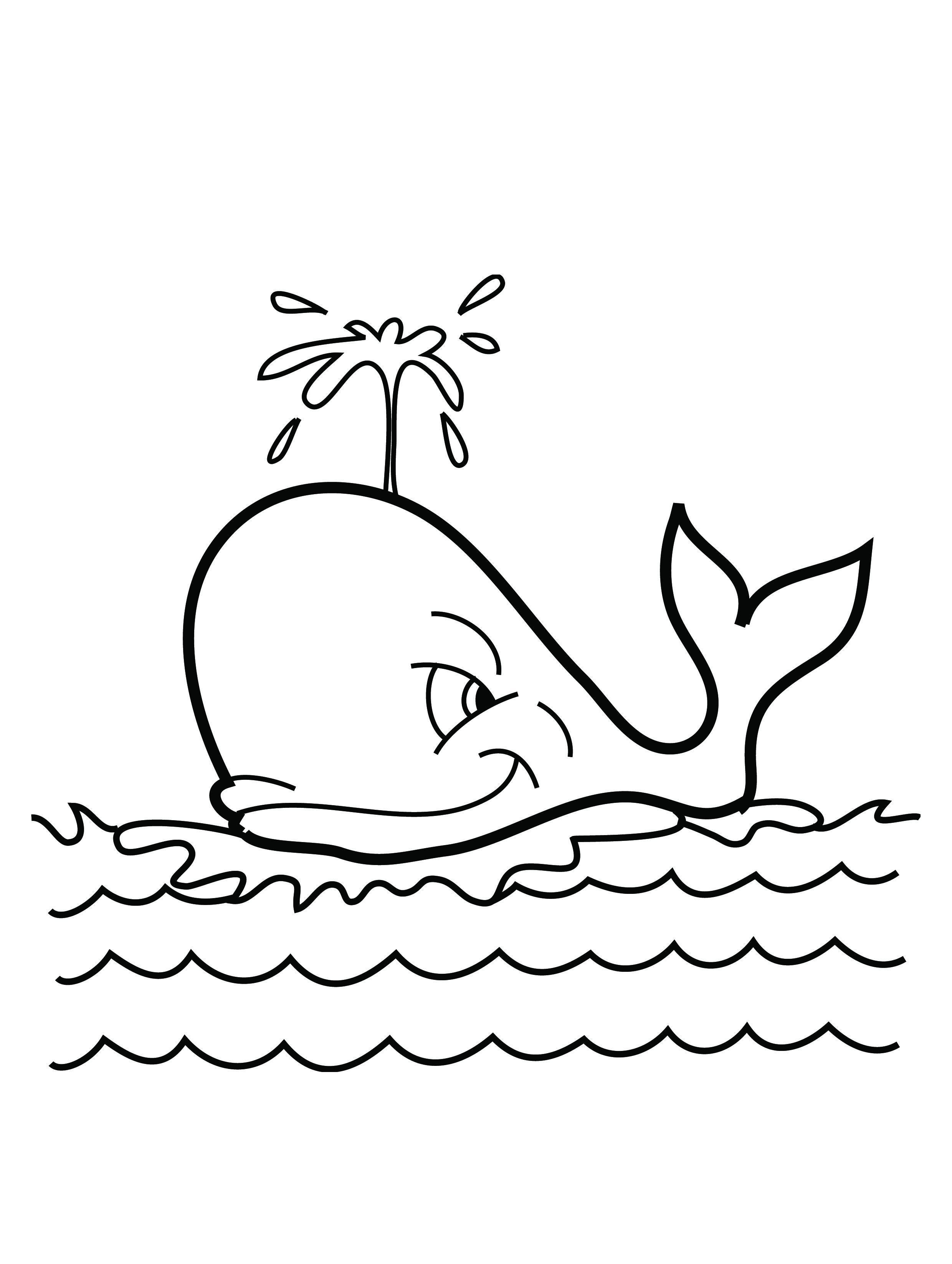 Whale-Coloring-Pages-For-Kids.jpg 2,480×3,292 pixels | Coloring ...