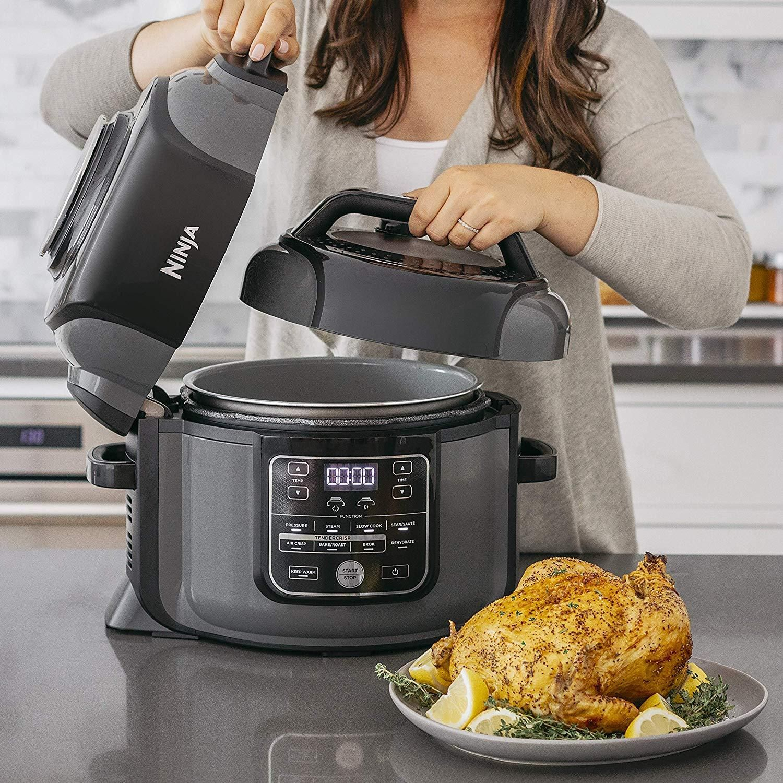 Ninja Foodi 8 Quart Xl Pressure Cooker With Air Fryer And Tendercrisp In 2020 Cooker Multicooker Pressure Fryer
