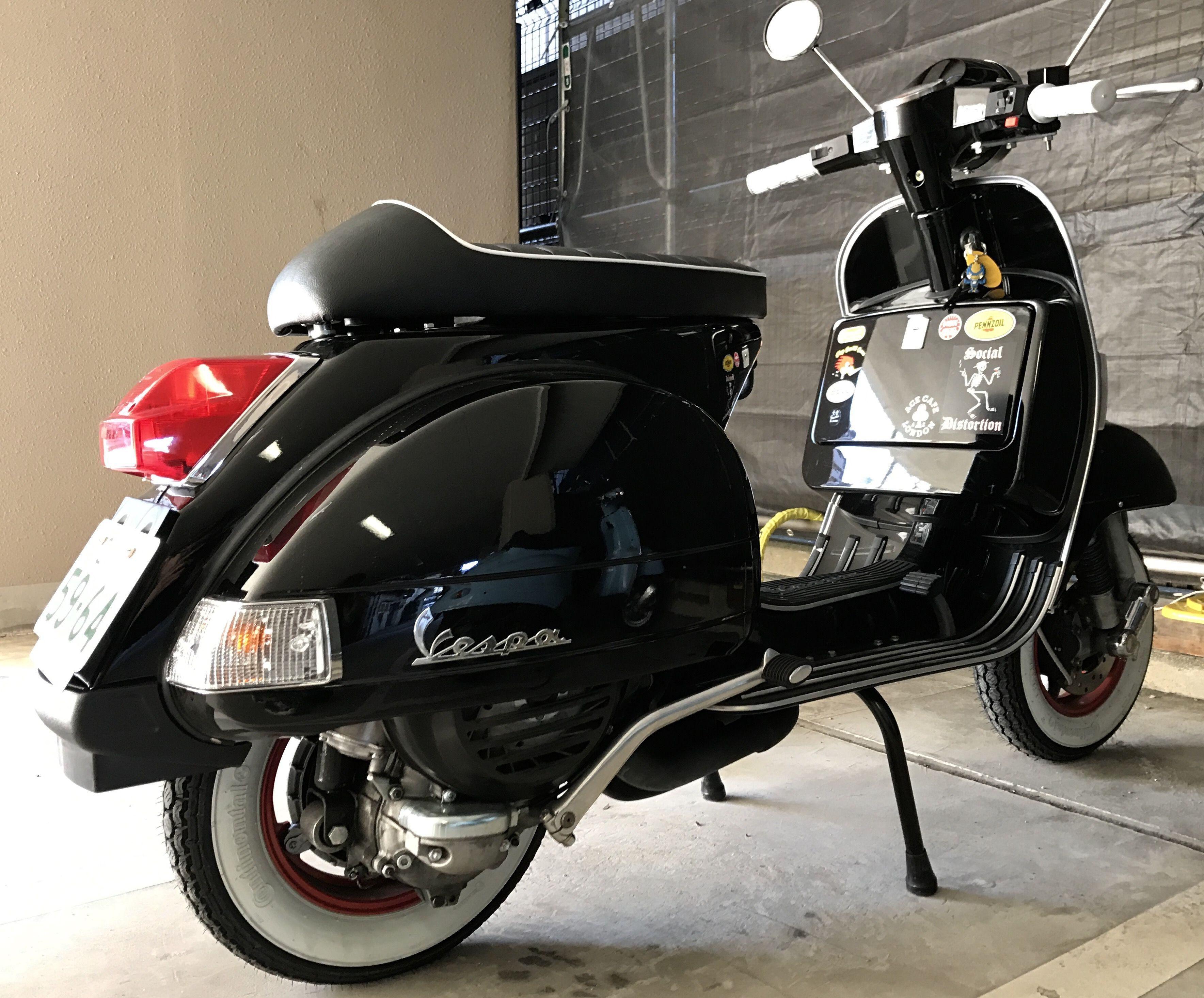 Vespa PX150 | custom vespa | Vespa, Custom vespa, dan ...