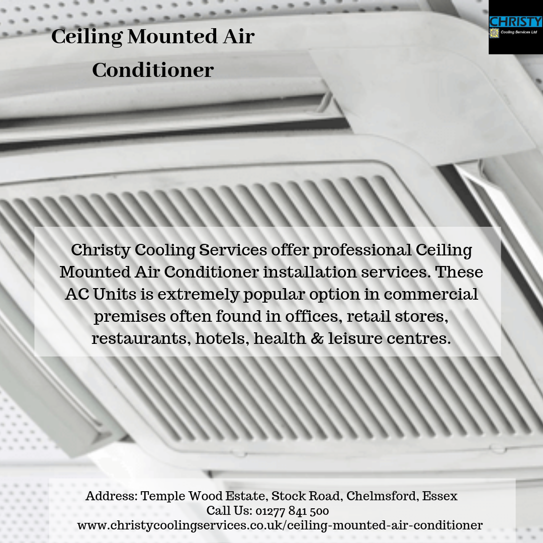 Christy Cooling Services offer professional Ceiling