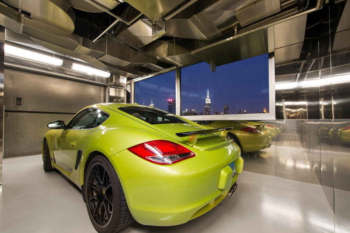 200 11th Avenue Penthouse In NYC Includes A Private Car