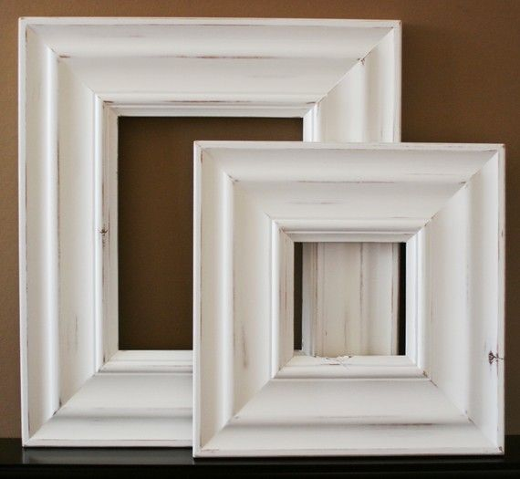 16x24 Wood Picture Frame / Empire Style / Black, White, Gray, Brown ...