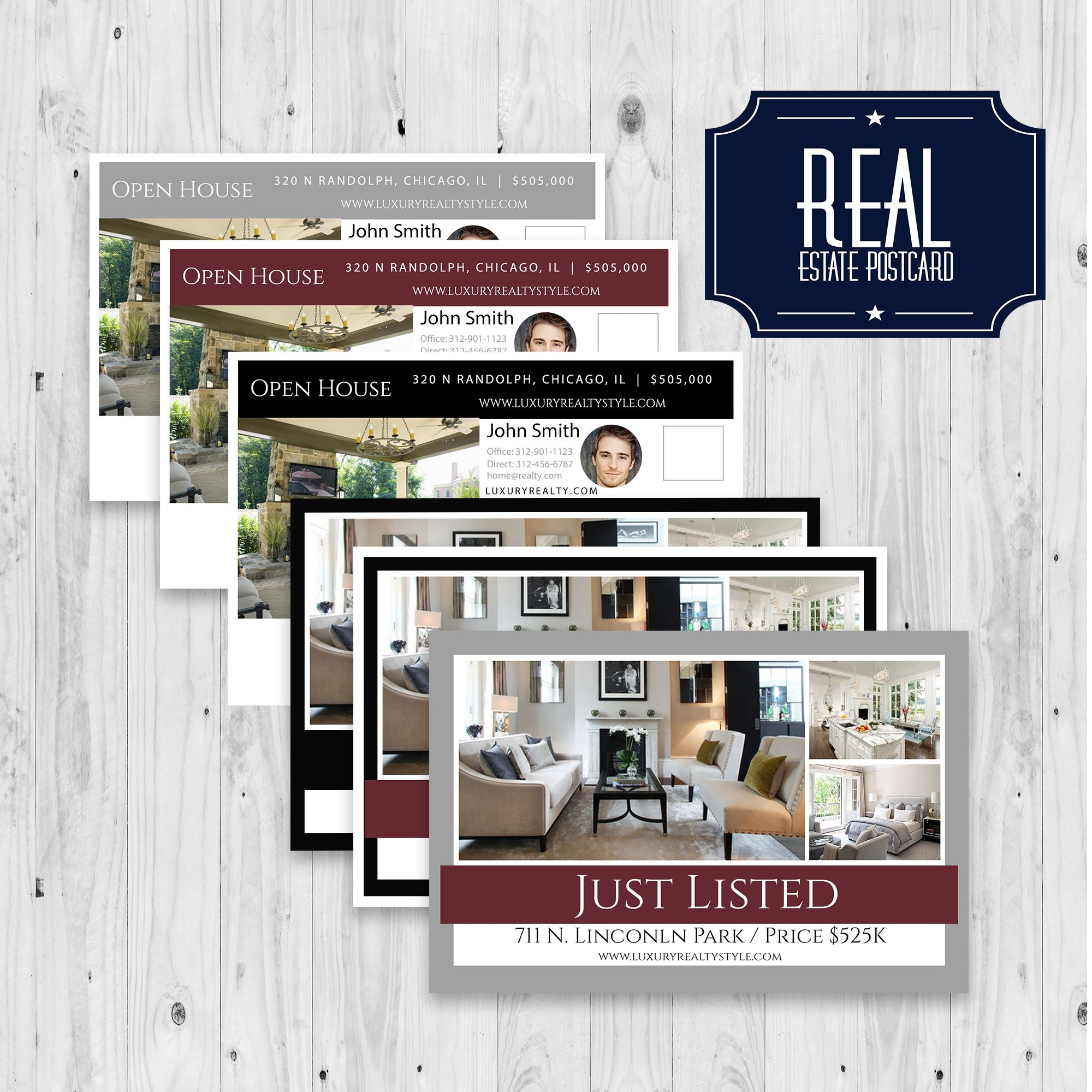 Real Estate Postcard, Real estate flyer, custom postcard, postcard ...