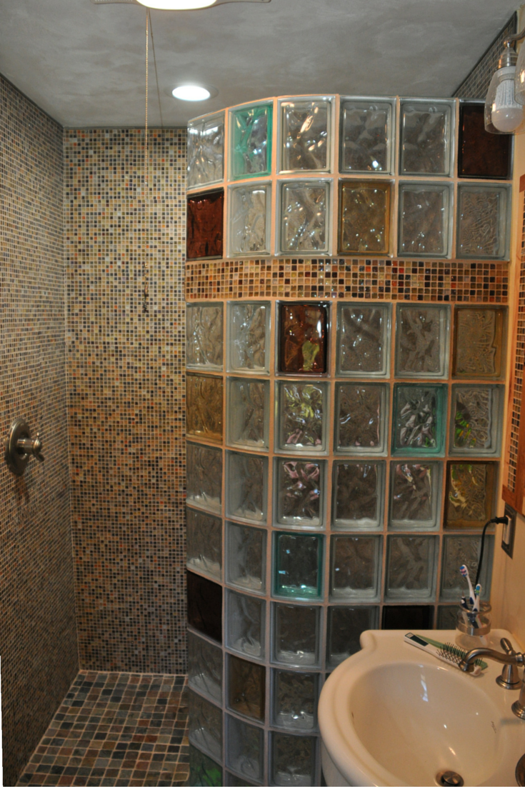 7 Myths About Glass Block Showers With Images Glass Block