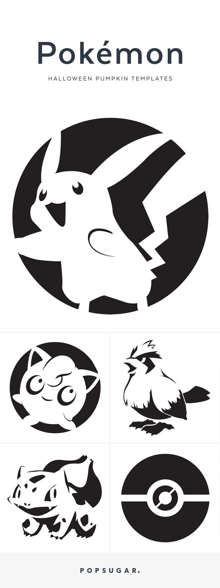 Create the Pokémon Pumpkins of Your Childhood Dreams With These Free ...