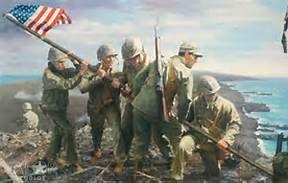 peleliu battle art prints - Bing Images