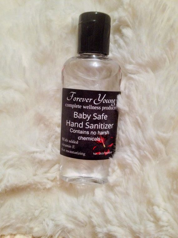 Hand Sanitizer For Babies And Children Non Toxic By Foreveyoung