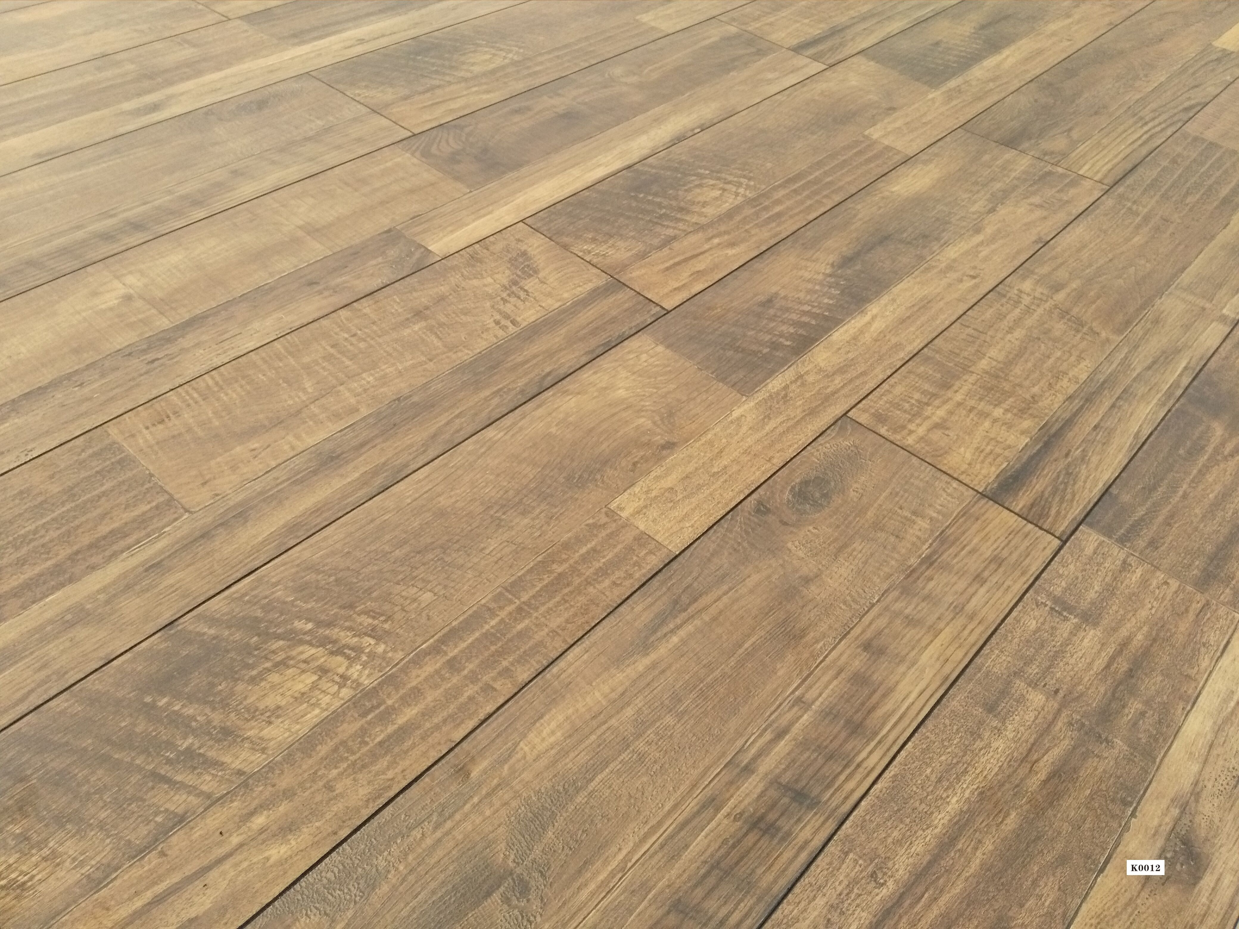 Lamton 12mm Country Club Collection Wide Plank Laminate Flooring