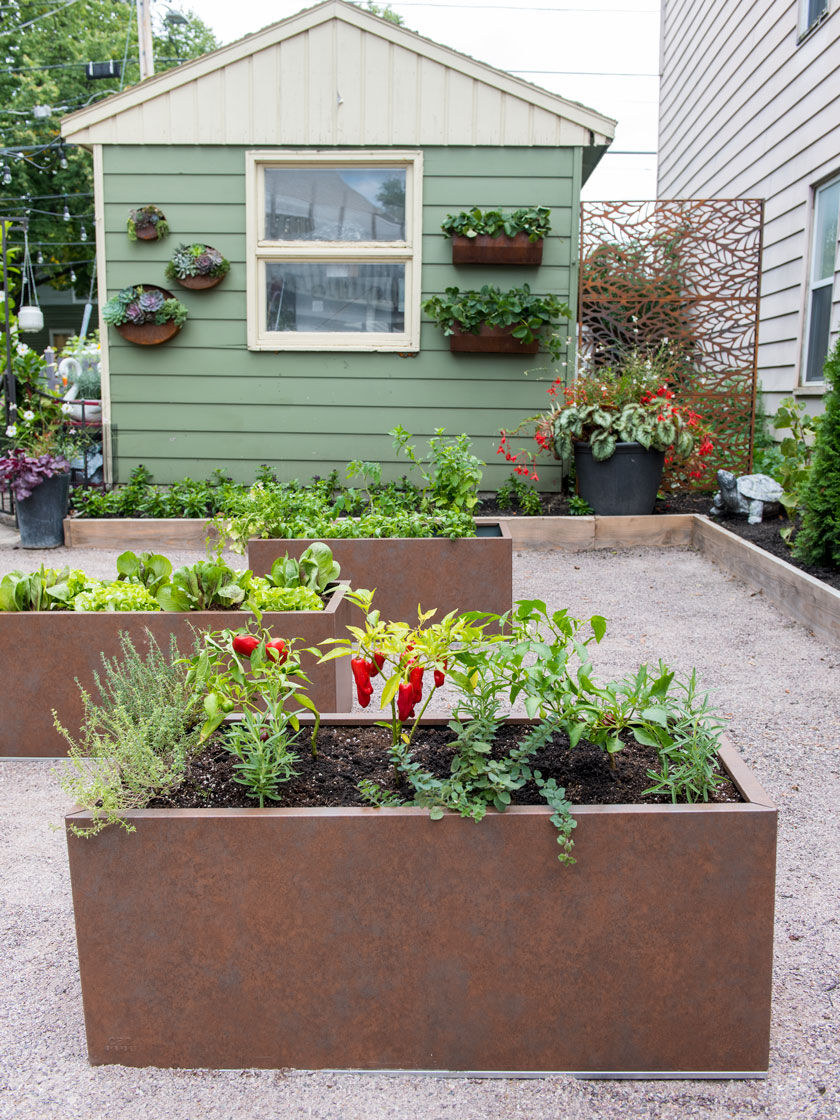 Better Metal Patio Planter Box is part of Patio planter boxes, Metal planter boxes, Planter boxes, Patio planters, Metal planters, Patio garden design -