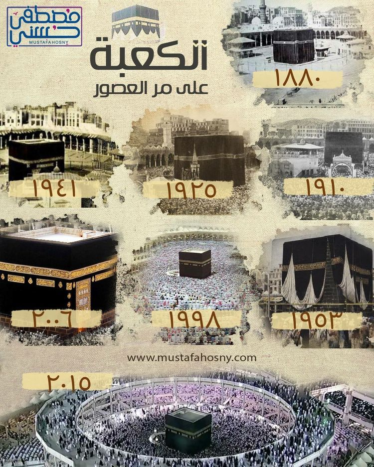Desertrose الكعبة على مر العصور Mecca Masjid Islamic Pictures Islamic Art
