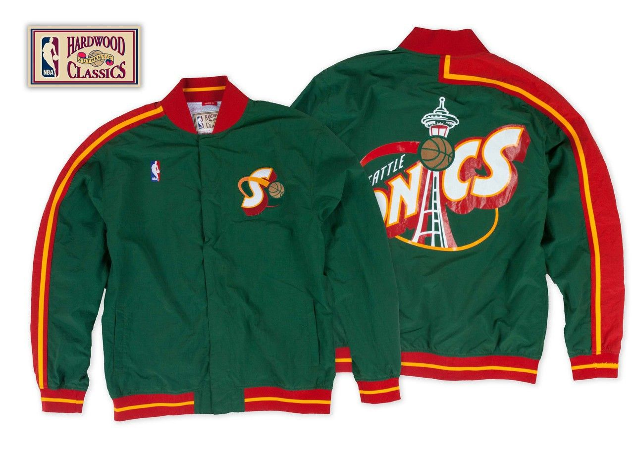 429f4d7eb33c Seattle SuperSonics 1995-96 Authentic Warm Up Jacket -  allaccesssports365.com