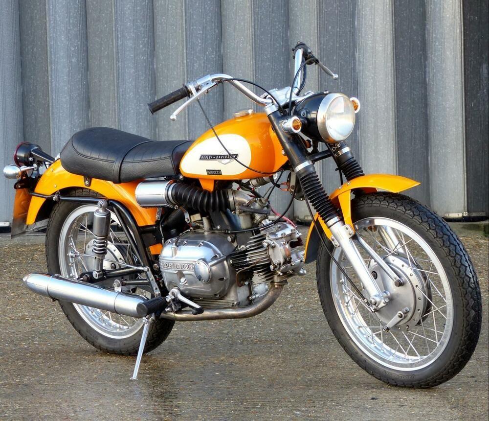 eBay: 1965 HARLEY DAVIDSON AERMACCHI SX SPRINT 250, CHERISHED