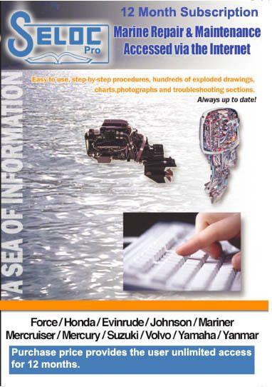 Boat Motor Repair Manual Online 1 Year Subscription Seloc Repair Manuals Diy Display Repair And Maintenance