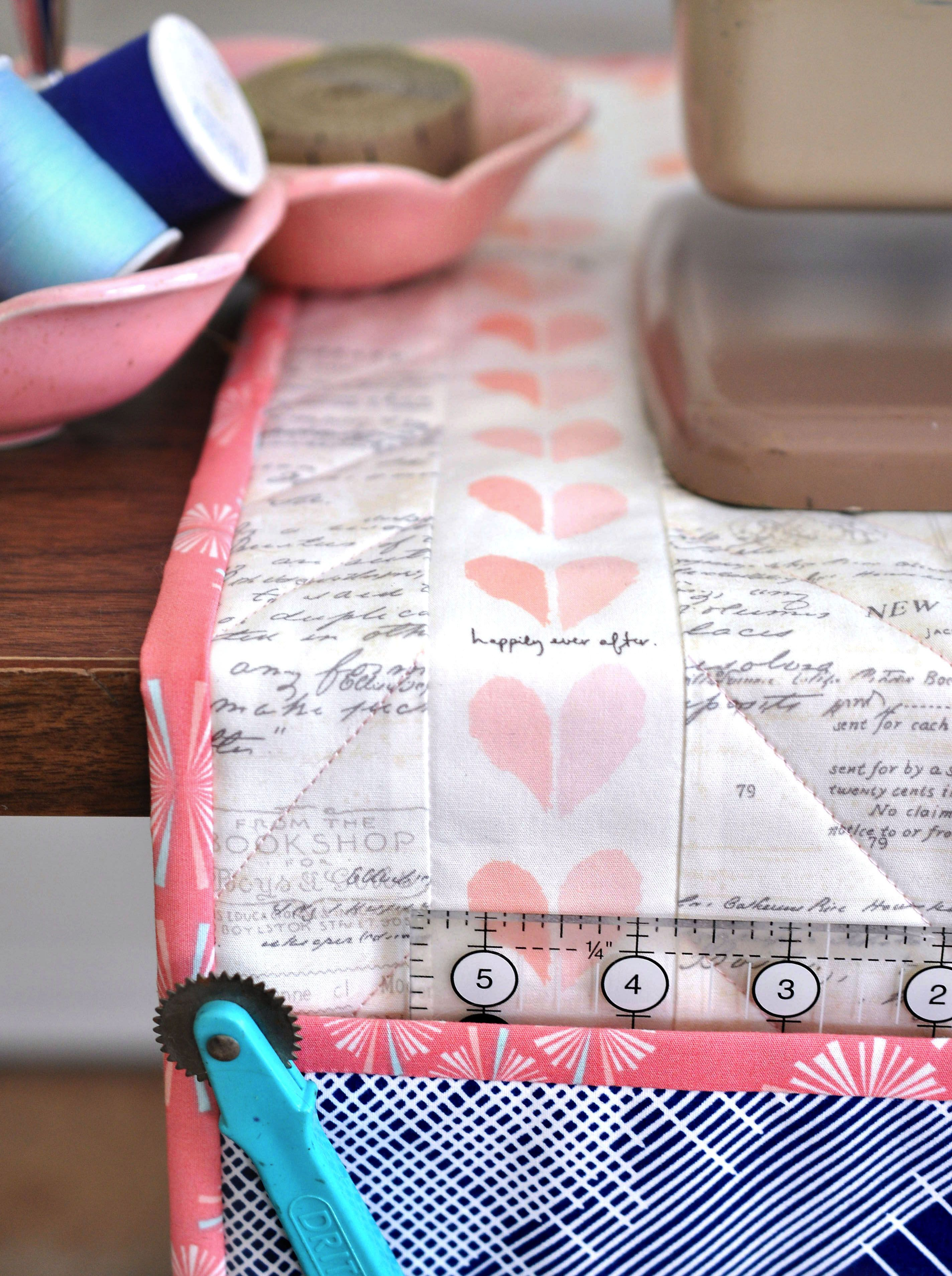 Undercover Maker Mat Featuring Paperie Fabrics Lillyella