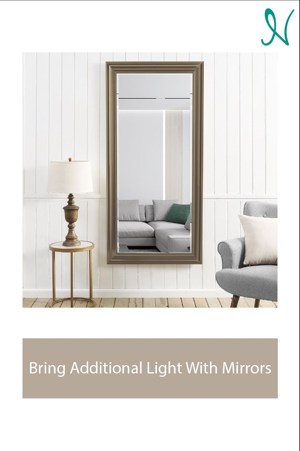 #Mirrors brings additional light and the feeling of additional space into a room. Check out the exclusive range of #floormirrors from Naomi Home. #NaomiHome #stylishfurniture #homedecor #homefurniture #decorlovers #smallspacefurniture #spacesaving #spacesavingfurniture #furniture #tips #mirror #wallmirror #accentmirror