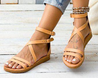 e574a4d0bef Sandals for women Leather sandal women