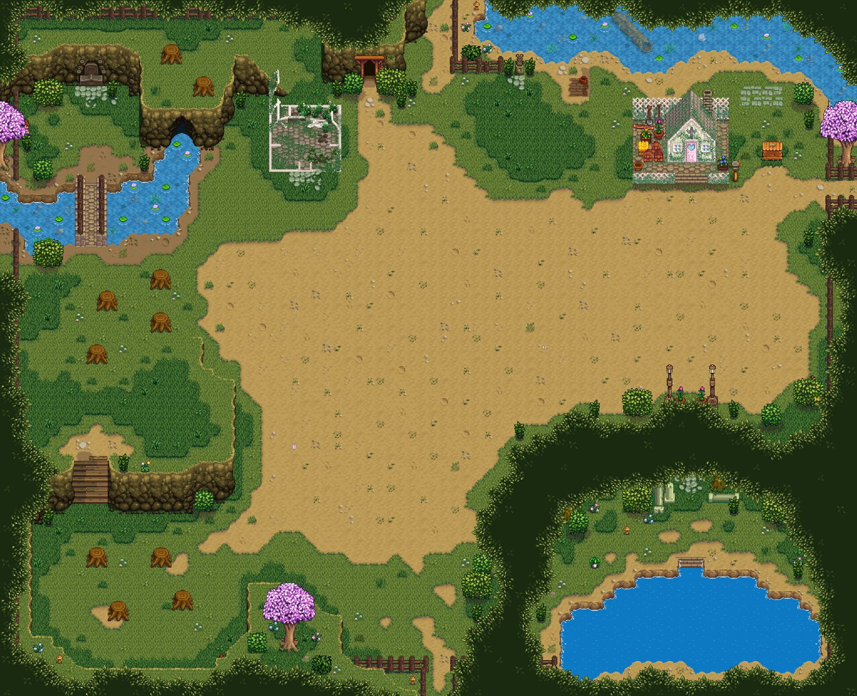 Ali's Foraging Map at Stardew Valley Nexus - Mods and community