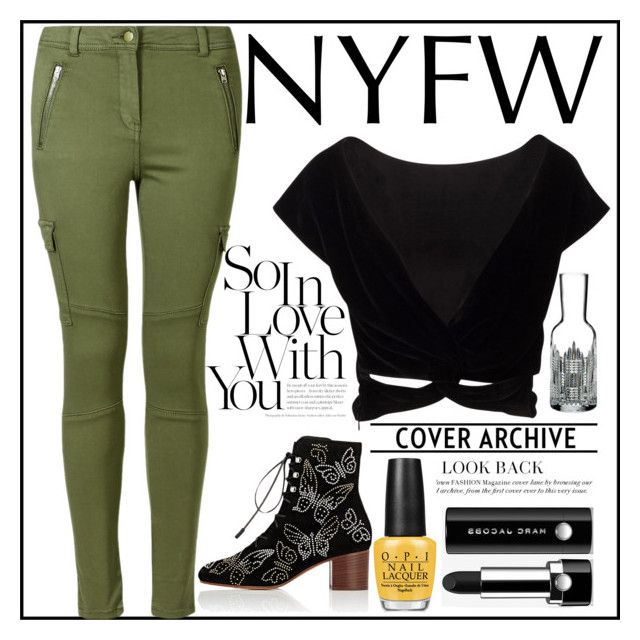 """""""Pack For NYFW!"""" by andybbau ❤ liked on Polyvore featuring Valentino, OPI, Marc Jacobs and Waterford"""