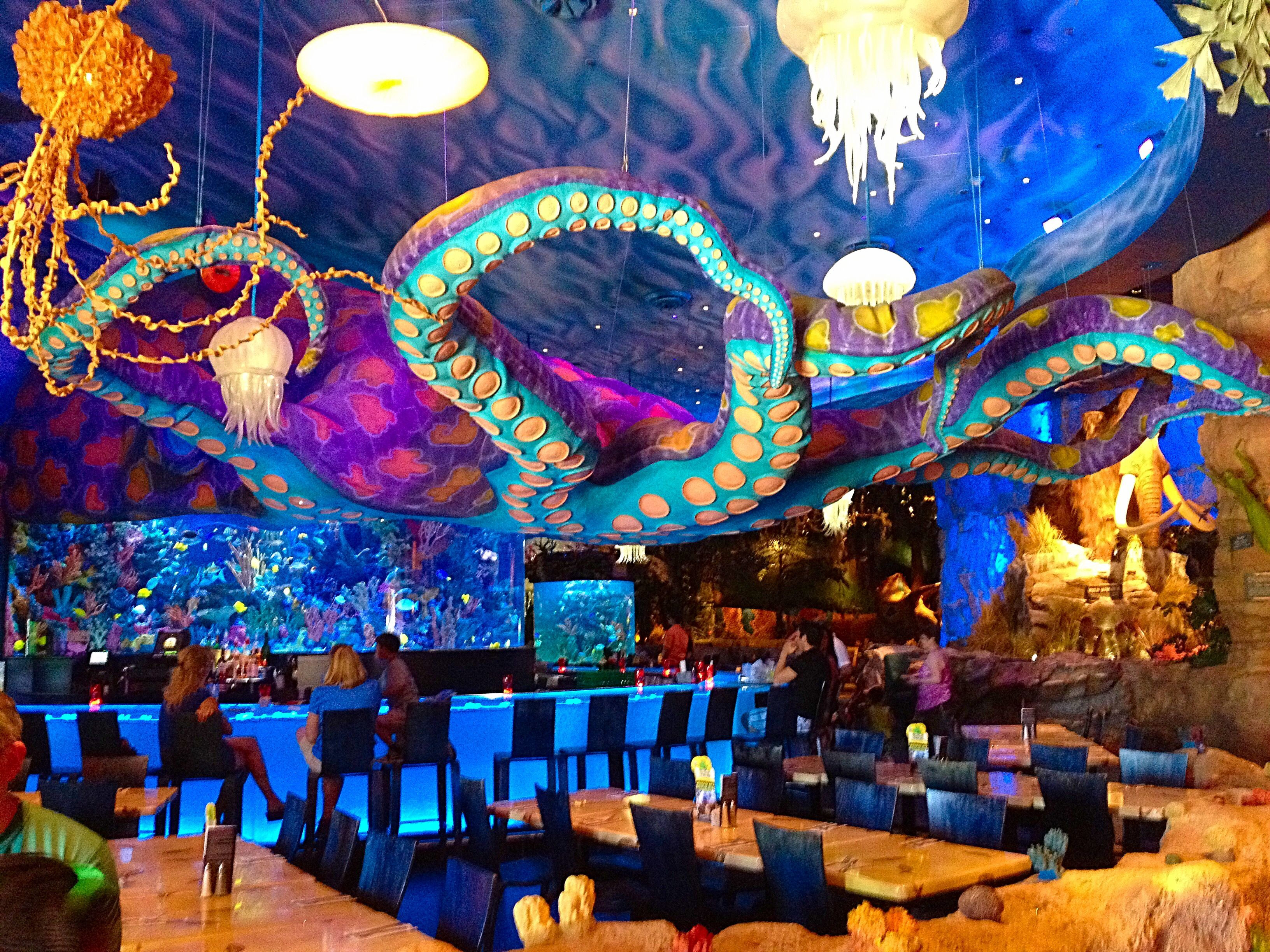 underwater restaurant disney world. Disney Springs | Pixie Dust And Beyond Underwater Restaurant World