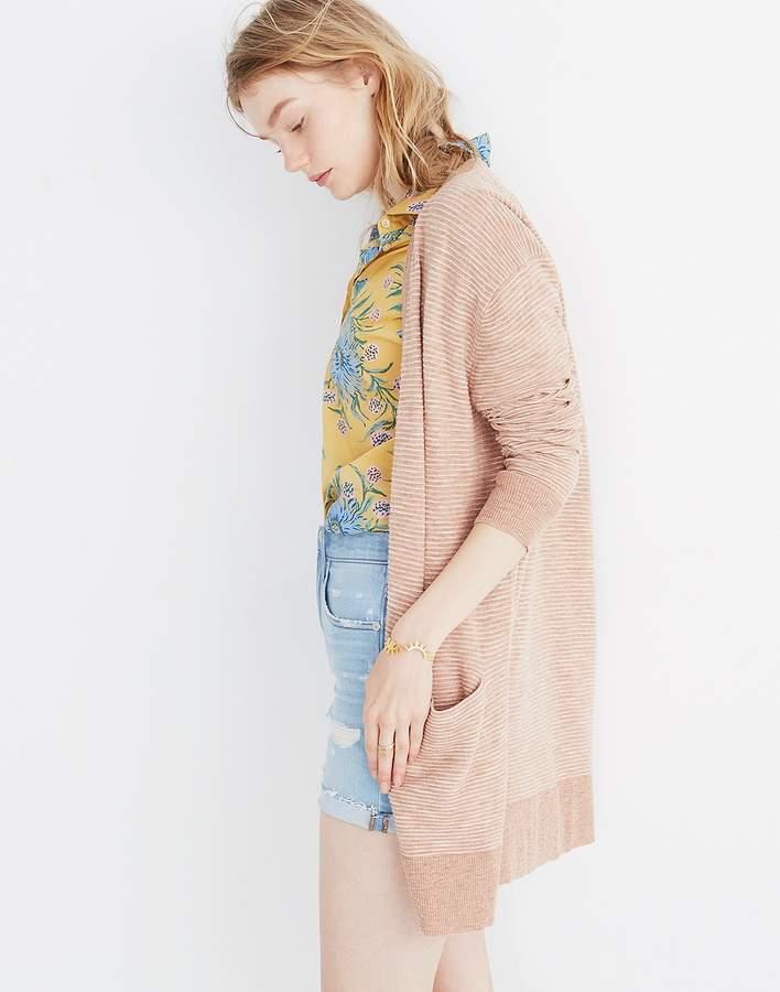 Madewell Summer Ryder Cardigan Sweater in Stripe  f6214ab00
