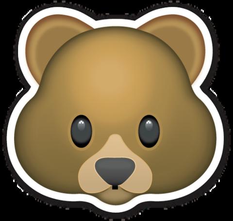 Pin by Brandy Truitt on Stickers Bear emoji, Bear face